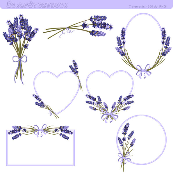 Lavender clipart #8, Download drawings