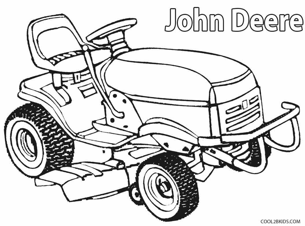 John Deere coloring #5, Download drawings