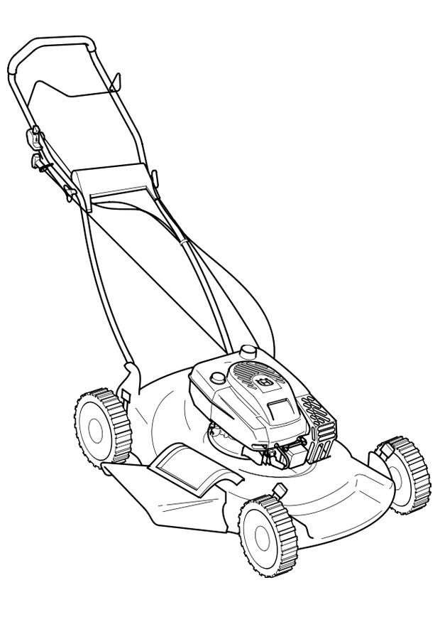 Lawn coloring #4, Download drawings
