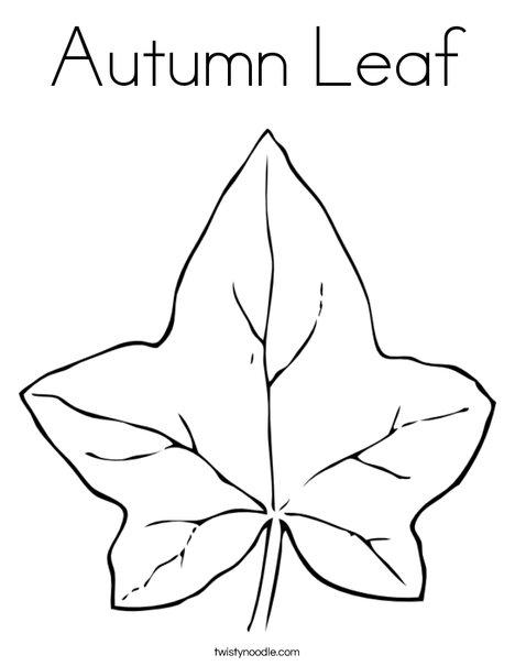 Leaf coloring #13, Download drawings