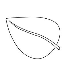 Leaf coloring #9, Download drawings