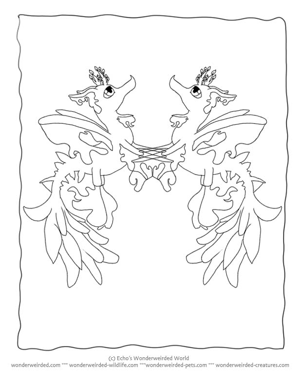 Leafy Seadragon coloring #16, Download drawings