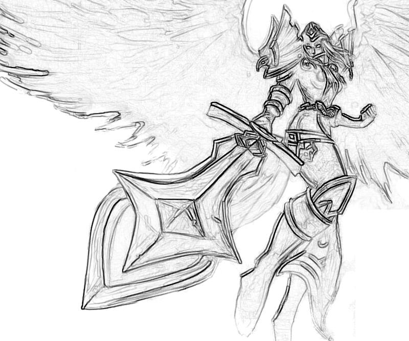 LeBlanc (League Of Legends) coloring #7, Download drawings