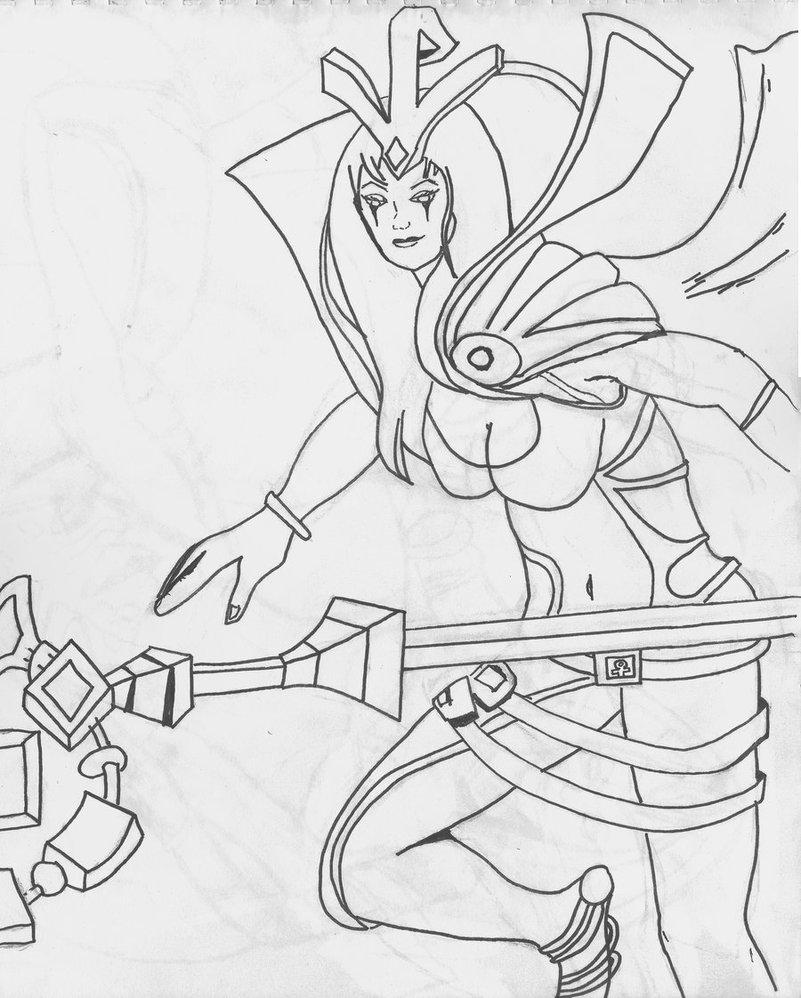 LeBlanc (League Of Legends) coloring #5, Download drawings