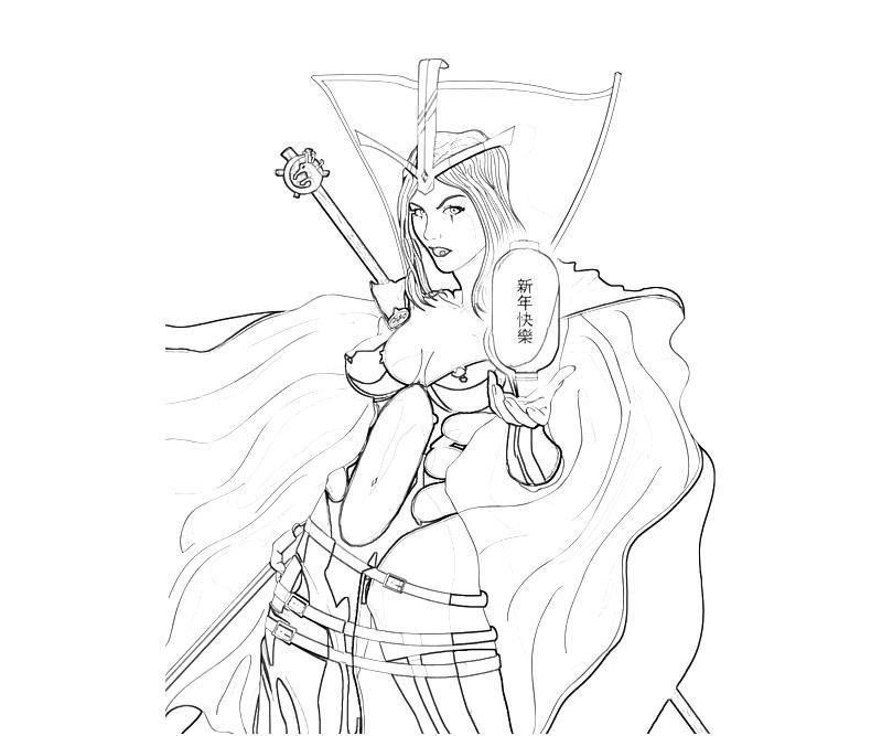 LeBlanc (League Of Legends) coloring #1, Download drawings