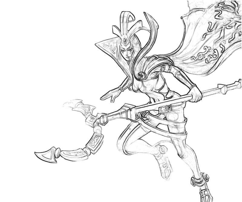 LeBlanc (League Of Legends) coloring #4, Download drawings