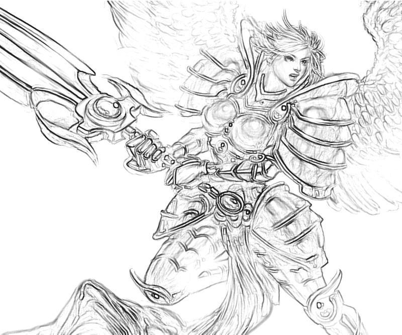 LeBlanc (League Of Legends) coloring #6, Download drawings