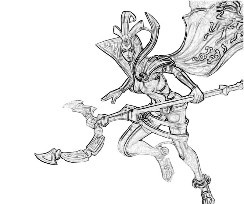 LeBlanc (League Of Legends) coloring #11, Download drawings