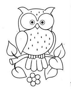 Lechuza coloring #17, Download drawings