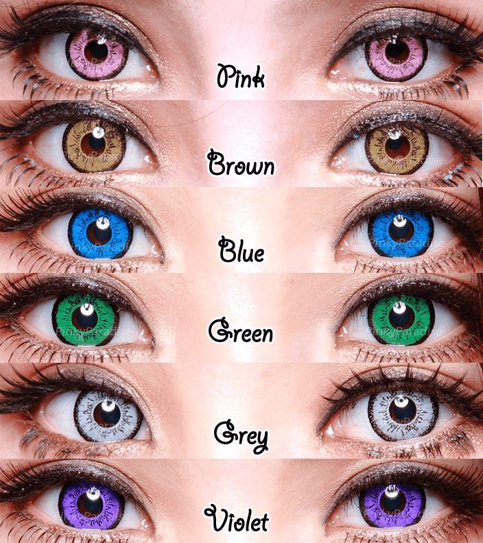 Pink Eyes coloring #18, Download drawings