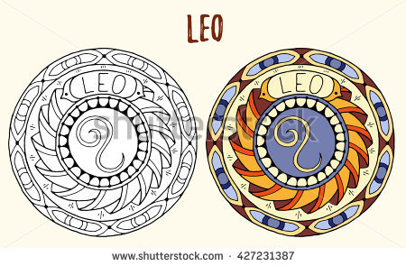 Leo (Astrology) coloring #15, Download drawings