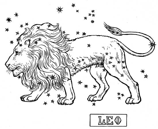 Leo (Astrology) coloring #7, Download drawings