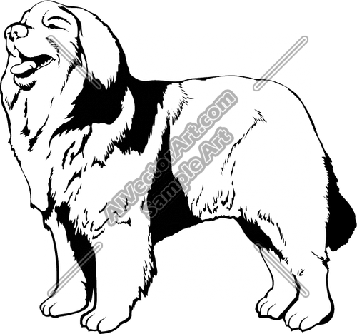 Leonberger clipart #19, Download drawings