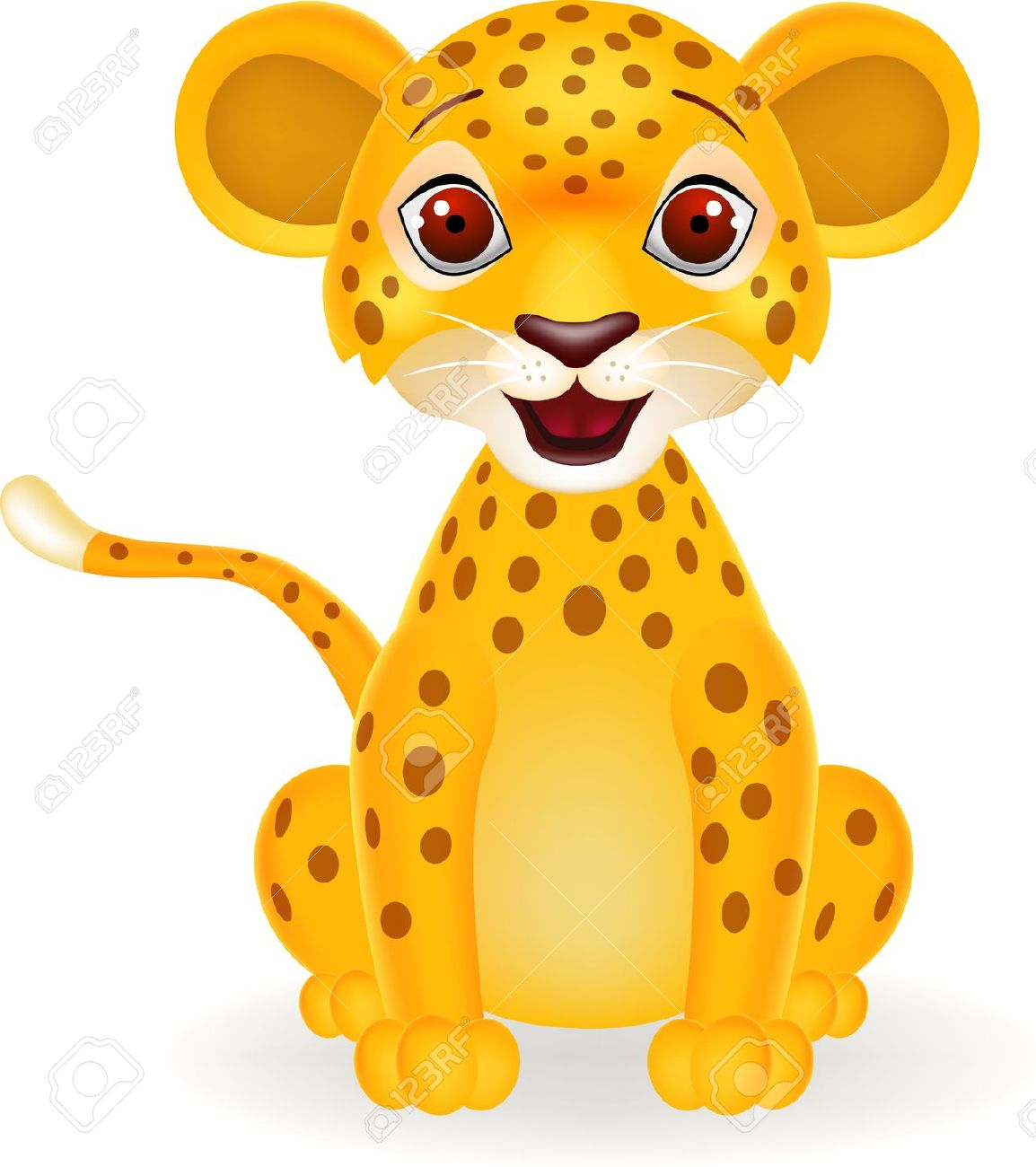 Leopard clipart #1, Download drawings