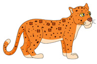 Leopard clipart #15, Download drawings