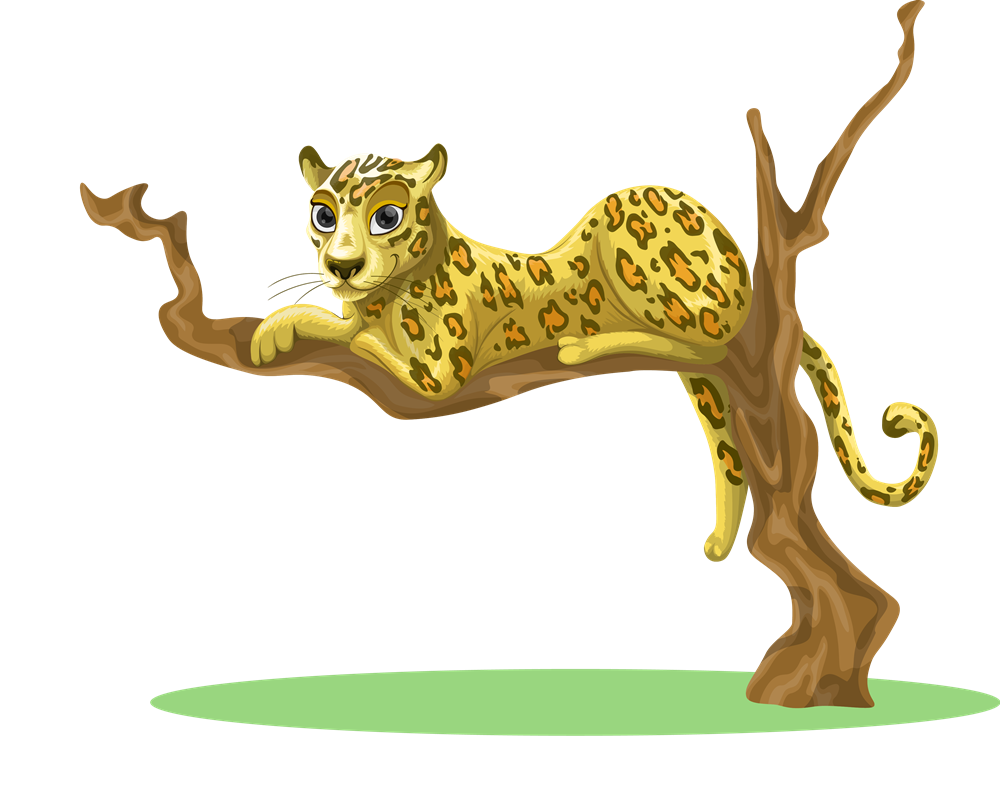 Leopard clipart #7, Download drawings