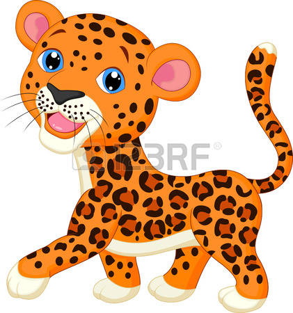 Leopard clipart #4, Download drawings