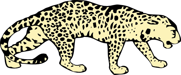 Leopard clipart #11, Download drawings
