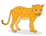 Leopard clipart #20, Download drawings