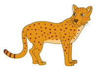 Leopard clipart #19, Download drawings