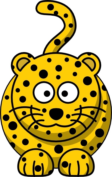 Leopard clipart #14, Download drawings