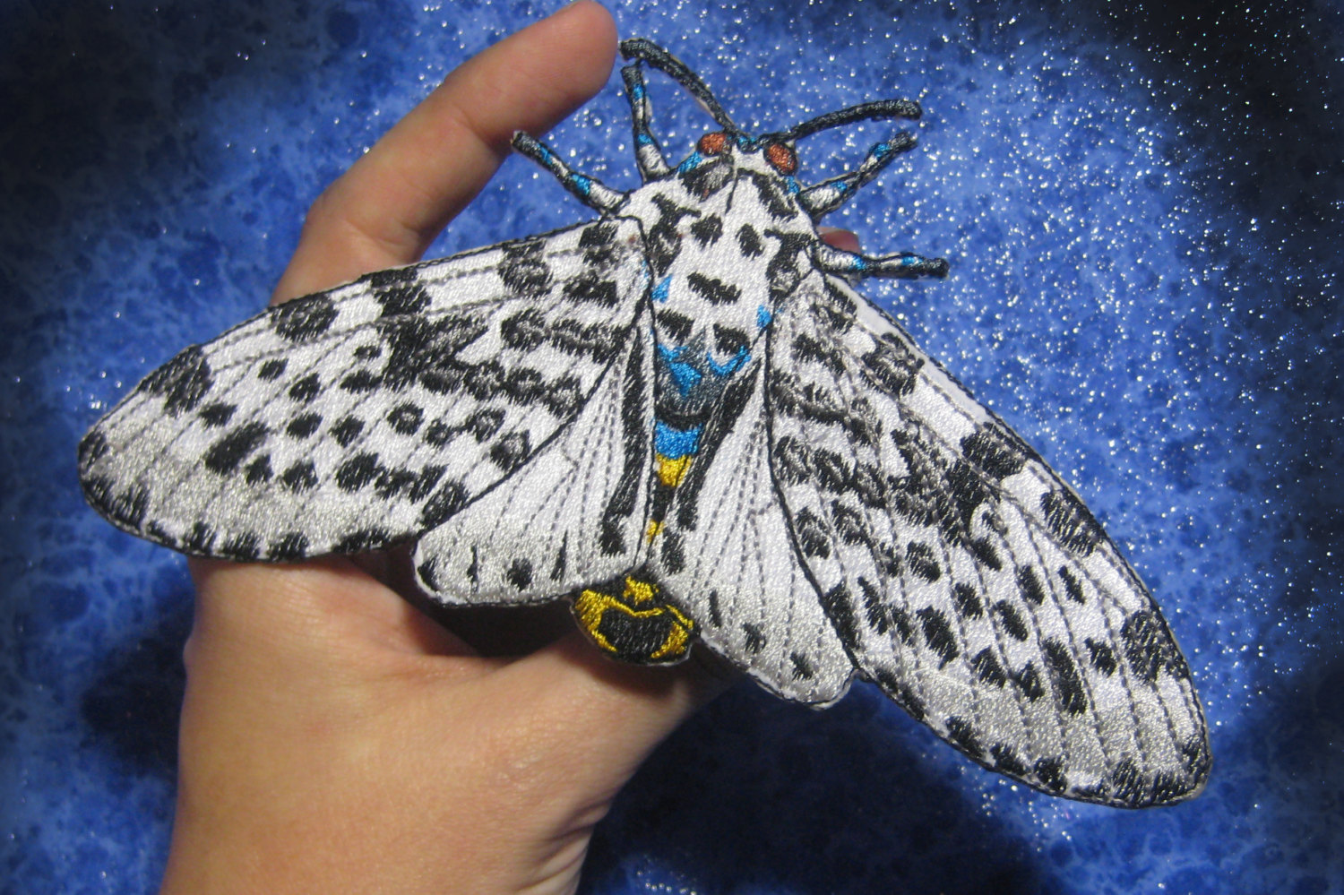 Leopard Moth coloring #20, Download drawings