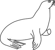 Leopard Seal clipart #15, Download drawings