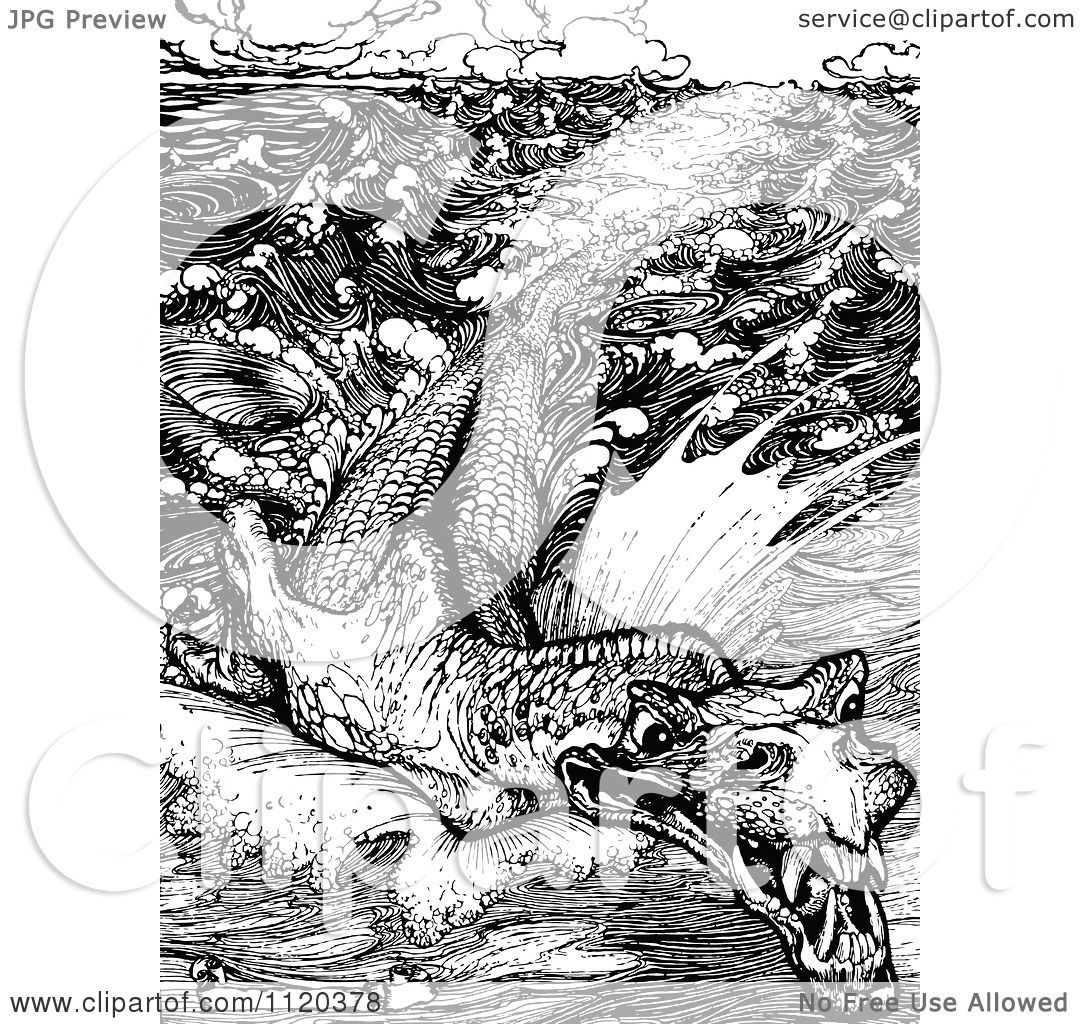 Leviathan clipart #1, Download drawings