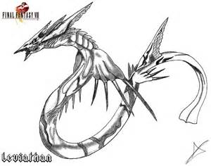 Leviathan coloring #4, Download drawings
