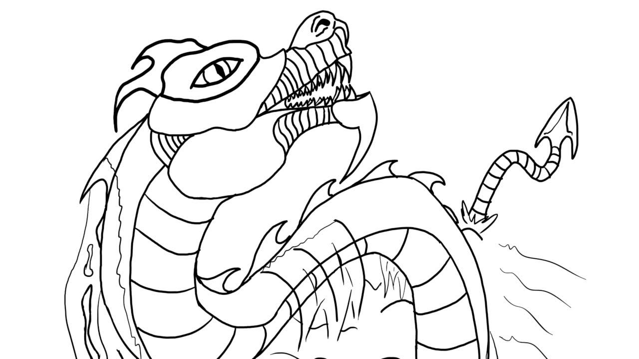 Leviathan coloring #19, Download drawings