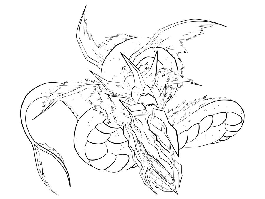 Leviathan coloring #11, Download drawings