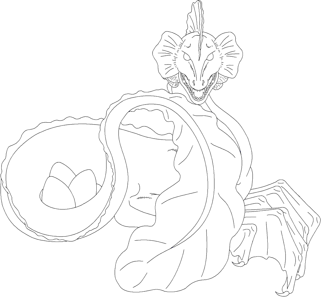 Leviathan coloring #15, Download drawings