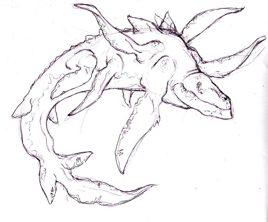 Leviathan coloring #2, Download drawings