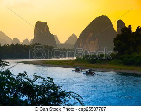 Li River clipart #16, Download drawings