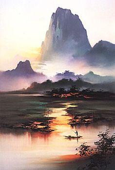 Li River coloring #18, Download drawings