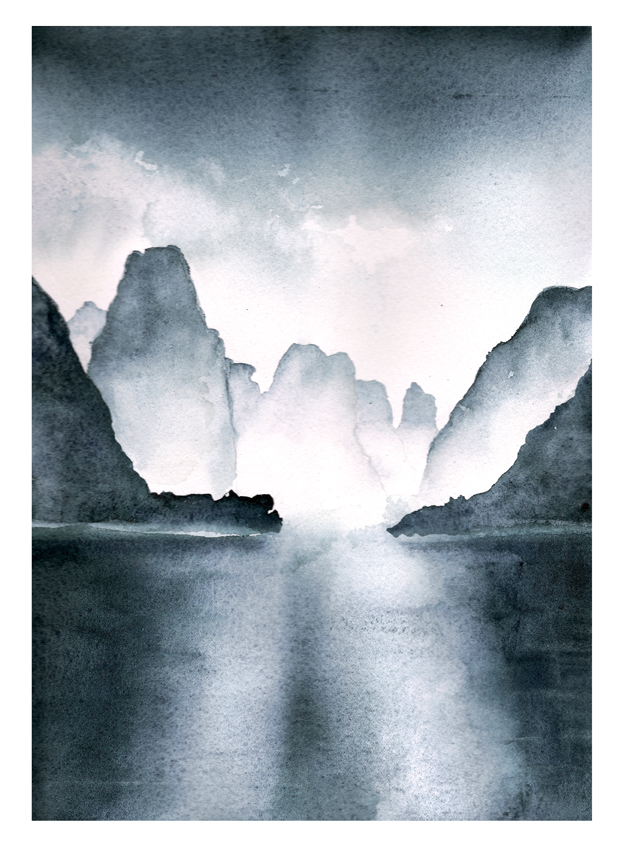 Li River coloring #4, Download drawings