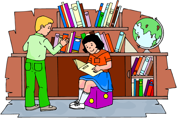 Library clipart #6, Download drawings