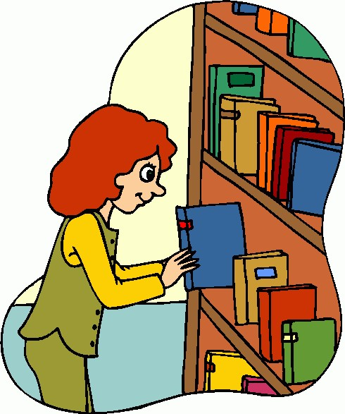 Library clipart #4, Download drawings