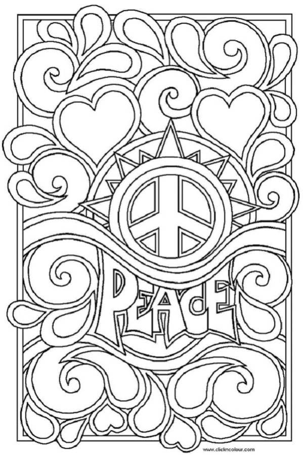 Peace coloring #15, Download drawings
