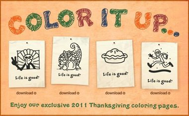 Life Is Good coloring #2, Download drawings