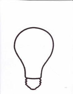 Light Bulb coloring #8, Download drawings