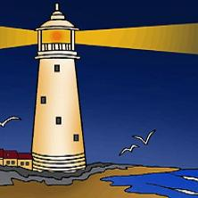 Lighthouse clipart #1, Download drawings