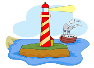 Lighthouse clipart #3, Download drawings