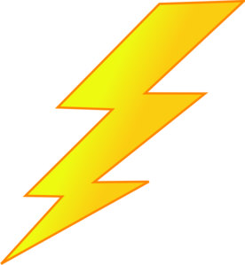 Lightning clipart #2, Download drawings