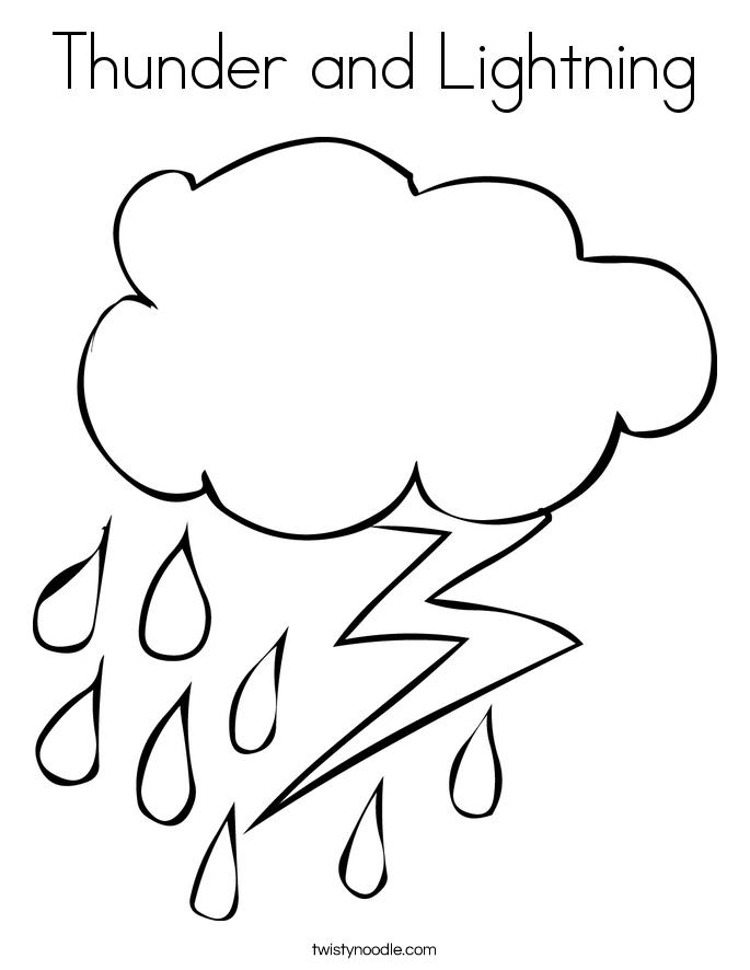 Lightning coloring #20, Download drawings