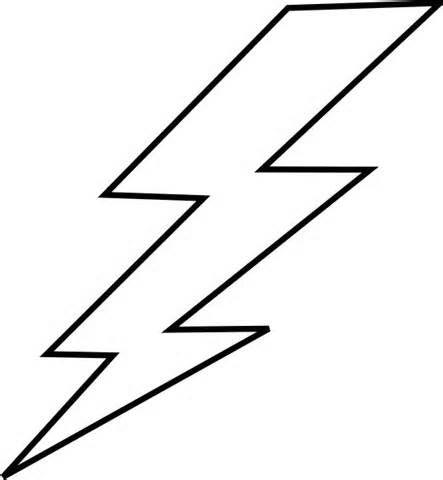 Lightning coloring #4, Download drawings