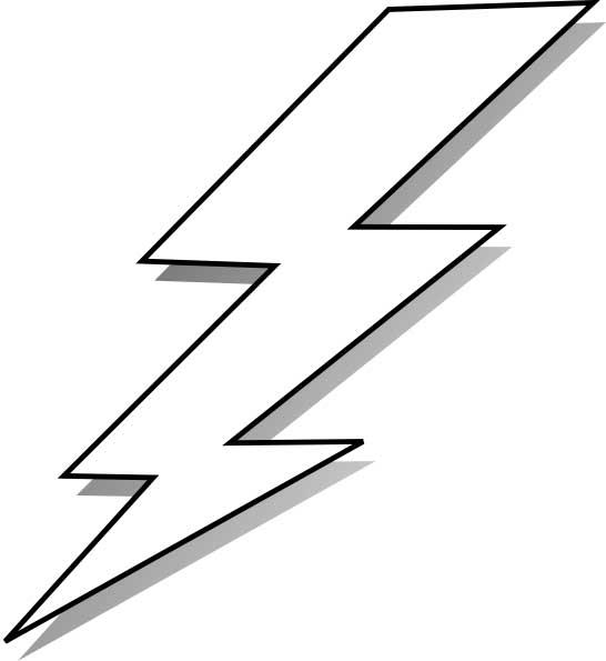 Lightning coloring #14, Download drawings