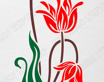 Lily svg #2, Download drawings
