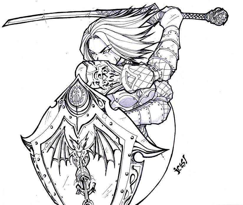 Lineage coloring #19, Download drawings