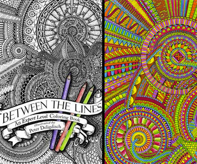 Lines coloring #10, Download drawings